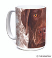 Chocolate Lab Face 15oz Ceramic Mug | The Mountain | 57355009011 | Chocolate Lab Mug
