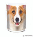 Corgi Face 15oz Ceramic Mug | The Mountain | 57362209011 | Corgi Mug