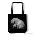 "Polar Bear 18"" Tote Bag | The Mountain | Climate Change is Real | 9759832 | Polar Bear Tote Bag"