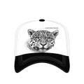 Leopard White Trucker Hat | Extinction is Forever | The Mountain | 7655569 | Leopard Hat