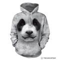 Big Face Panda Unisex Hoodie | The Mountain | 723558 | Panda Sweatshirt