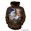 Independence Eagle Unisex Hoodie | The Mountain | 724848 | Eagle Sweatshirt