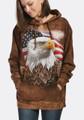 Independence Eagle Unisex Hoodie | The Mountain | 724848 | Eagle Sweatshirt