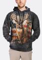 Patriotic Buck Unisex Hoodie | The Mountain | 723709 | Deer Sweatshirt