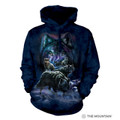 Wolf Pack Unisex Hoodie | The Mountain | 725915 | Wolf Sweatshirt