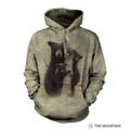 Mama Bear Unisex Hoodie | The Mountain | 726391 | Black Bear Sweatshirt