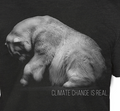 Polar Bear Unisex Tri-Blend T-Shirt | Climate Change is Real | The Mountain | 545983 | Polar Bear T-Shirt