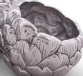 Artichoke 3-Part Dip Bowl | Arthur Court Designs | 118G13