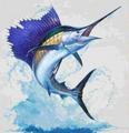 Marlin Koozie Set of 4   Marlin Coozie   BW4509