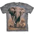 African Elephant Unisex Cotton T-Shirt | The Mountain | 105959 | African Elephant T-Shirt