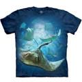 School of Stingrays Unisex Cotton T-Shirt | The Mountain | 105969 | Stingray T-Shirt