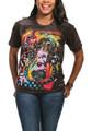 Brilliant Dachshund Unisex Cotton T-Shirt | The Mountain | 105954 | Dachshund Dog T-Shirt
