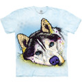 Siberian Husky Unisex Cotton T-Shirt | The Mountain | 105926 | Siberian Husky T-Shirt