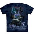 Wolf Pack Unisex Cotton T-Shirt | The Mountain | 105915 | Wolf T-Shirt
