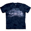 Wolf Moon Cycles Unisex Cotton T-Shirt | The Mountain | 105887 | Wolf T-Shirt
