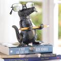 Alligator Eyeglass Stand Sculpture | SPI Home | 34612