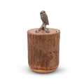 Owl Wood Canister | Vagabond House | K259WL