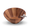 Butterfly Salad Bowl Set of 4 | Vagabond House | G212BS-4