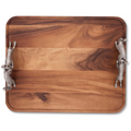 Hopping Bunny Rabbits Wood Tray | Vagabond House | G214HB
