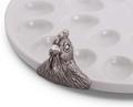 French Hen Stoneware Deviled Egg Tray | Vagabond House | K302CK