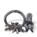 Squirrel Pewter Napkin Ring Set of Four | Vagabond House | S115B-4