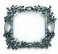 Acorn and Oak Leaf Square Glass Tray | Vagabond House | L408