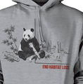 Panda Habitat Unisex Hoodie | The Mountain | 725579 | Panda Sweatshirt