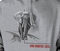 Elephant Habitat Unisex Hoodie | The Mountain | 725571 | Elephant Sweatshirt