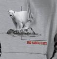 Polar Bear Habitat Unisex Hoodie | The Mountain | 725573 | Polar Bear Sweatshirt