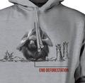 Orangutan End Deforestation Unisex Hoodie | The Mountain | 725570 | Orangutan Sweatshirt