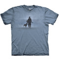 Hunter and His Dog Unisex Cotton T-Shirt | The Mountain | 106480 | Hunter and Dog T-Shirt