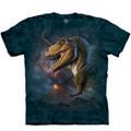 Volcano T-Rex Unisex Cotton T-Shirt   The Mountain   106484   T-Rex T-Shirt