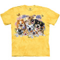 Dog Cat Fun in the Sun Unisex Cotton T-Shirt | The Mountain | 106461 | Dog and Cat T-Shirt