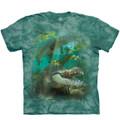 Alligator Swim Unisex Cotton T-Shirt | The Mountain | 106456 | Alligator T-Shirt
