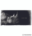 Be My Voice Rhino 15oz Ceramic Mug | The Mountain | 575977 | Rhino Mug