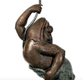 Whimsical Frog Bronze Fountain Statue | Metropolitan Galleries | SRB704906