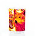 Phoenix Wolf 15oz Ceramic Mug | The Mountain | 573075 | Wolf Mug