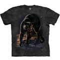 Panther Portrait Unisex Cotton T-Shirt | The Mountain | 106277 | Panther T-Shirt
