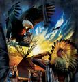 Eagle Prayer Unisex Hoodie | The Mountain | 725957 | Bald Eagle Sweatshirt