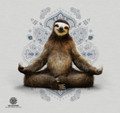 Peaceful Yoga Sloth Stainless Steel 17oz Travel Mug | The Mountain | 59628607481 | Sloth Travel Mug