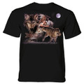 Arapaho Wolf Moon Unisex Cotton T-Shirt | The Mountain | 106169 | Wolf T-Shirt