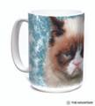 Grumpy Cat 15oz Ceramic Mug   The Mountain   57368809011   Cat Mug