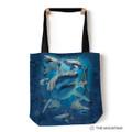 "Great White Sharks 18"" Tote Bag   The Mountain   9759402   Shark Tote Bag"