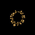 Eucalyptus Leaf Gold Bracelet | Michael Michaud | 7031V | Nature Jewelry
