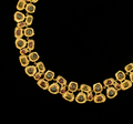"Sea Urchin 16"" Adjustable Gold Collar Necklace | Michael Michaud | 7985V | Nature Jewelry"