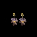 Pansies Post Earrings | Michael Michaud | 3587BZ | Nature Jewelry