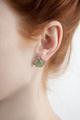 Gingko Post Earrings | Michael Michaud Jewelry | SS4918BZ