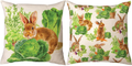 Bunny Trail Max Throw Pillow | SLBUTV
