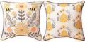 Honey & Hive Reversible Throw Pillow