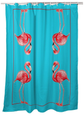 Flamingos Shower Curtain | BDSH084T